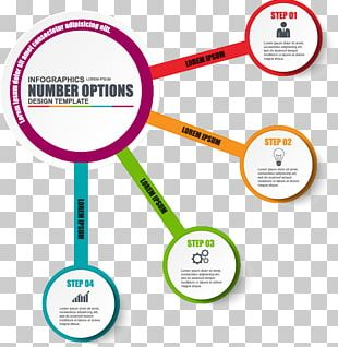 Infographic Workflow Diagram Template PNG