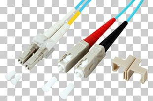 Network Cables Electrical Connector Optical Fiber Connector Multi-mode Optical Fiber PNG