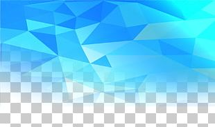 Blue Rhombus PNG