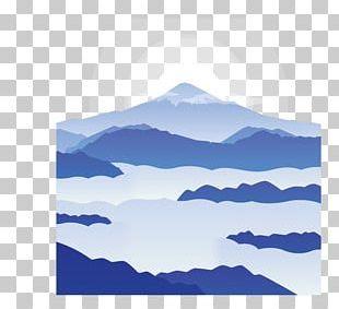 Sunrise Euclidean Snow PNG