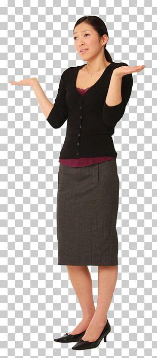 Woman Businessperson Dress Pencil Skirt PNG
