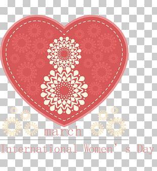 International Womens Day Woman Art Ornament PNG