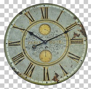 Paris Table Alarm Clock Wall PNG