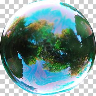 Soap Bubble Game Reflection Sphere PNG