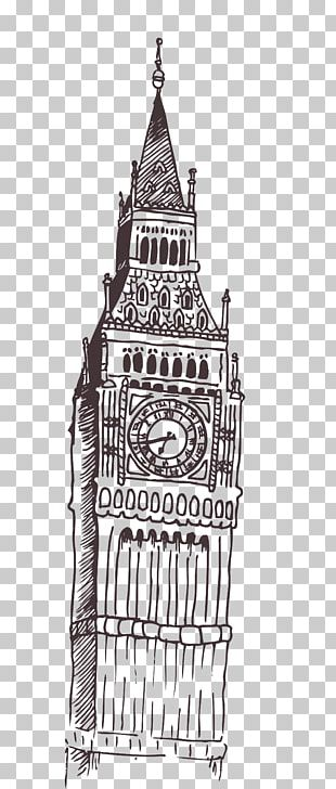 Big Ben Tower Of London Computer File PNG