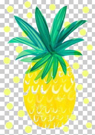 Pineapple Printing PNG
