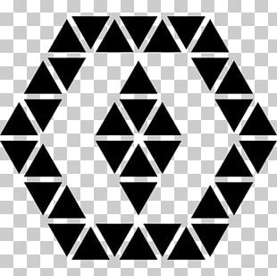 Triangle Shape Hexagon Geometry PNG