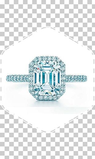 Tiffany & Co. Engagement Ring Diamond PNG