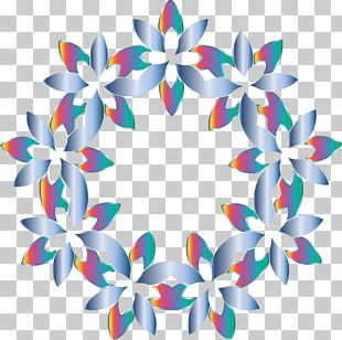 Abstract Art Drawing Floral Design PNG