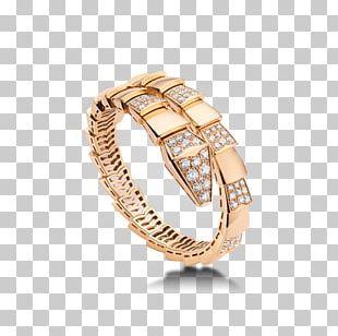 Bulgari Earring Jewellery Bracelet Gold PNG
