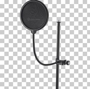 Microphone Stands Pop Filter Recording Studio Professional Audio PNG