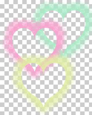 Desktop Computer Pink M Heart PNG