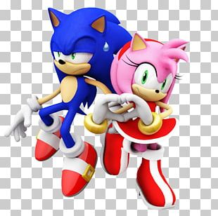 Sonic The Hedgehog Sonic Mania Knuckles The Echidna Amy Rose Valentine's Day PNG