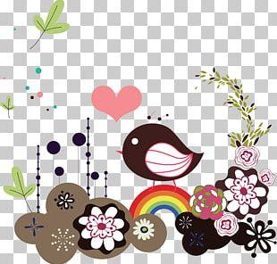 Bird Flower PNG