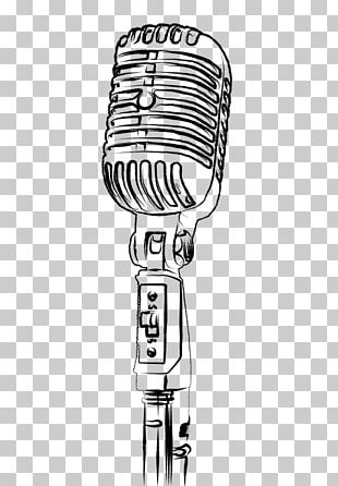 Microphone Drawing Photography PNG