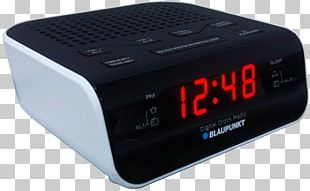 Alarm Clocks Radio Broadcasting Clockradio Home Appliance PNG