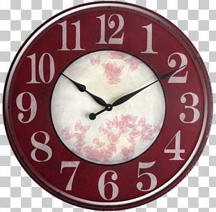 Table Clock Shabby Chic Distressing Kitchen PNG