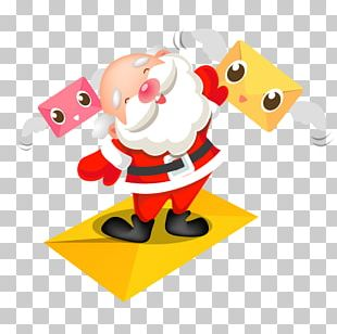 Fictional Character Art Technology Santa Claus PNG