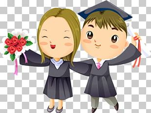 Graduation Ceremony Drawing PNG