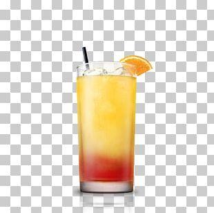 Cocktail Garnish Orange Juice Tequila Sunrise PNG