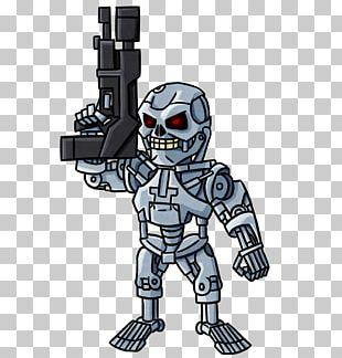 Terminator Drawing Cyborg Robot Art PNG
