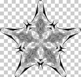 Black And White Grayscale Geometry PNG