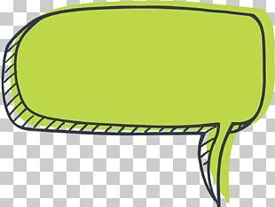 Speech Bubble Green PNG
