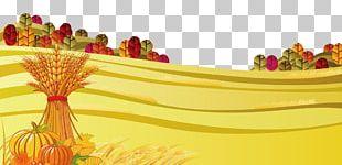 Scarecrow Autumn Illustration PNG