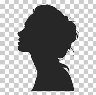 Silhouette Female Woman PNG