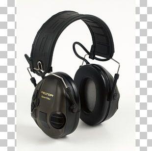 Earmuffs 3M Peltor SportTac Hearing PNG