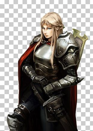 Knight Woman Female Armour Middle Ages PNG