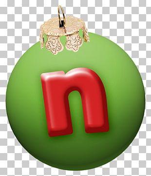 Christmas Letter Alphabet Font PNG