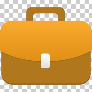 Material Yellow Bag PNG