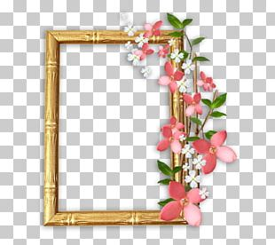 Floral Design Frames Photography PNG