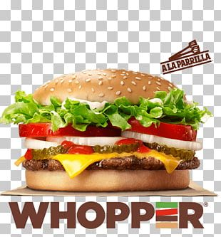Whopper Hamburger Cheeseburger Burger King French Fries PNG