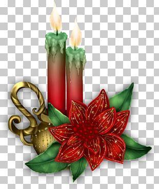 Christmas Ornament Candle Snegurochka Santa Claus PNG