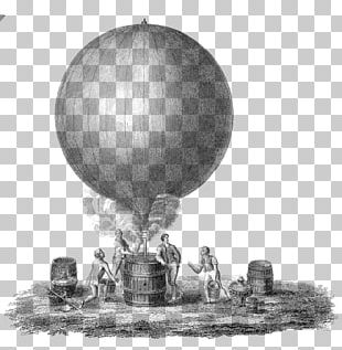 Flight Hot Air Balloon Montgolfier Brothers Airplane PNG
