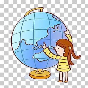 Earth Globe Cartoon Stock Illustration Illustration PNG