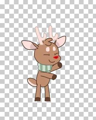 Reindeer GIF Rudolph Santa Claus PNG