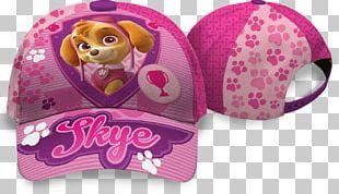 Nickelodeon PAW PATROL | SKYE| CAP Pink Hat Clothing Baseball Cap PNG