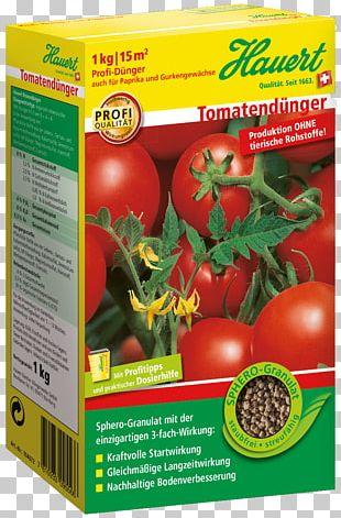 Bush Tomato Hauert Fertilisers Gemüsegarten PNG