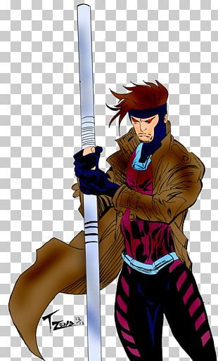 Gambit Rogue Nightcrawler Professor X X-Men PNG