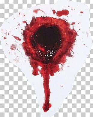 Gunshot Wound Abziehtattoo Blood Bullet PNG