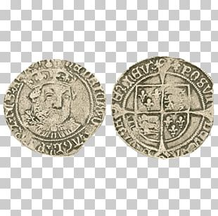 History Of Coins House Of Tudor Groat Obverse And Reverse PNG