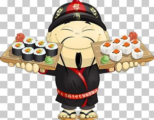 Japanese Cuisine Sushi Chef Itamae Cooking PNG