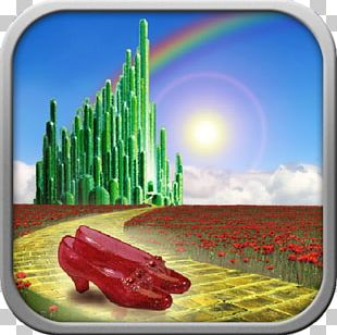 Peoria Players Theatre The Wizard Of Oz Emerald City Yellow Brick Road Ruby Slippers PNG