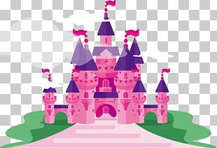 Castle Princess PNG