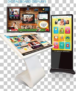 Marketing Communications Interactive Kiosks Design And Technology Advertising PNG