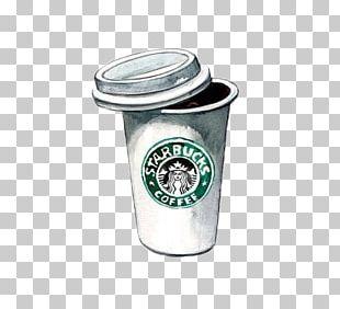 Coffee Tea Cappuccino Starbucks Drawing PNG