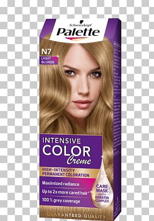 Hair Coloring Blond Human Hair Color PNG